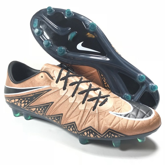 new concept 41303 6a253 Nike Hypervenom Phinish Soccer Cleats Bronze S 11